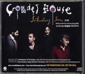 Saturday Sun (USA Promo CD)