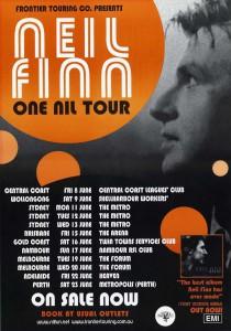 One Nil Tour (Australia Promo Poster)