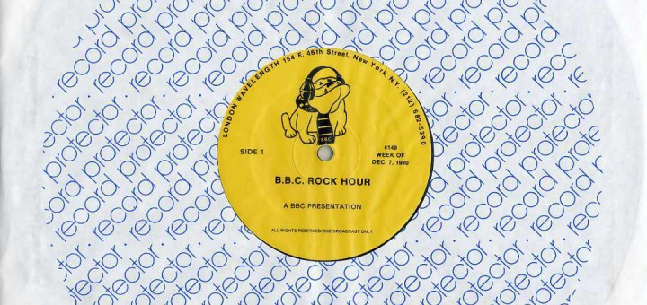BBC Rock Hour (USA Radio Promo LP)