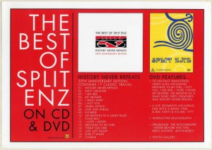 The Best Of Split Enz (Australia Promo Display)