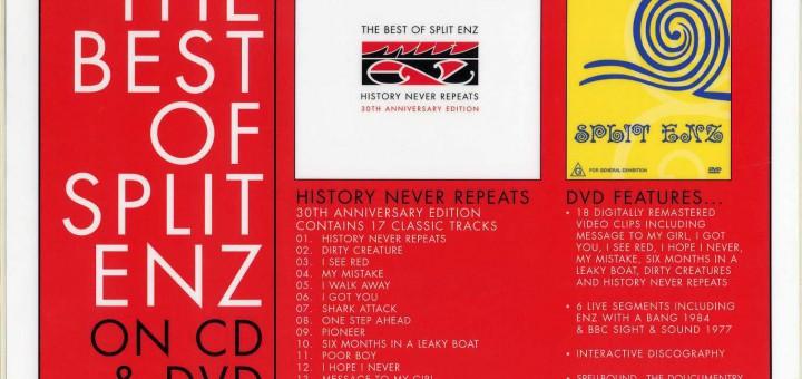 The Best Of Split Enz (Australia Promo Display)