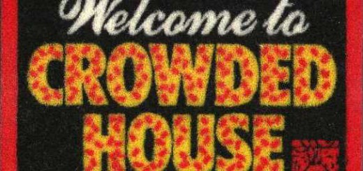 Welcome To Crowded House (USA Promo Miniature Doormat)