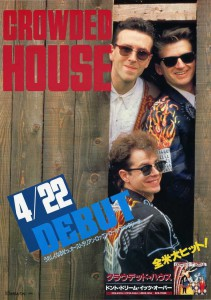 Crowded House (Japan Promo Poster)