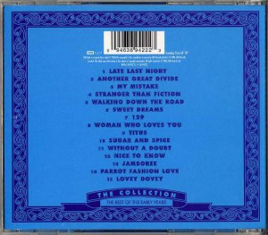 The Collection - The Best Of The Early Years (Europe CD)