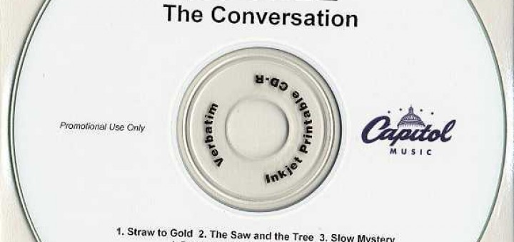 The Conversation (Australia Promo CD-R)