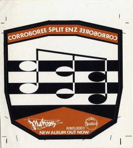 Corroboree (Australia Promo Sticker)
