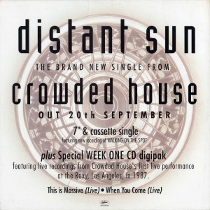 Distant Sun (UK Promo Display Flat)