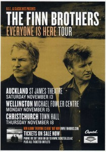 Everyone Is Here 2004 Tour (New Zealand Promo Poster)