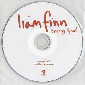 Energy Spent (Australia Promo CD-R)