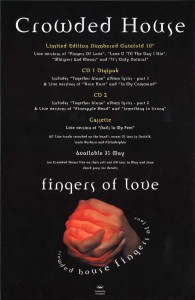 Fingers Of Love (UK Promo Poster)