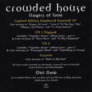 Fingers Of Love (UK Promo Display Flat)