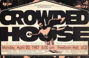 Davis 1987 (USA Promo Poster)