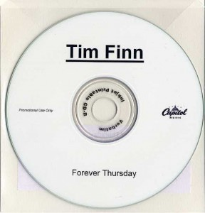 Forever Thursday (Australia Promo CD-R)