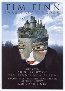 Imaginary Kingdom (New Zealand Promo Flyer)