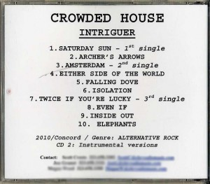 Intriguer (USA Promo 2CD-R)