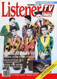 Listener Magazine 1992 (New Zealand Promo Poster)