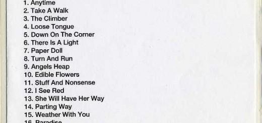 Live Album (UK Promo CD-R)