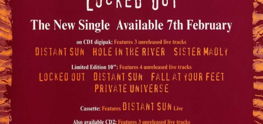 Locked Out (UK Promo Display Flat)