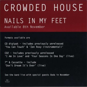 Nails In My Feet (UK Promo Display Flat)
