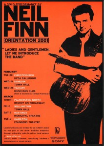 Orientation Tour 2001 (New Zealand Promo Poster)
