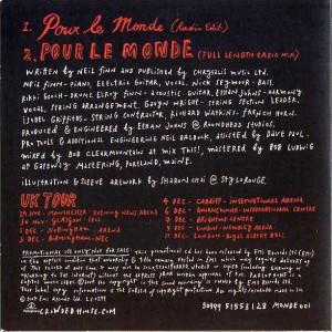Pour Le Monde (Europe Promo CD)