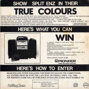 True Colours (Australia Promo Display Flat)