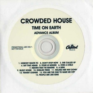 Time On Earth (Australia Promo CD-R)