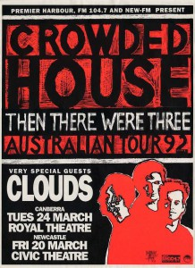 Then There Were Three (Australia Promo Poster)