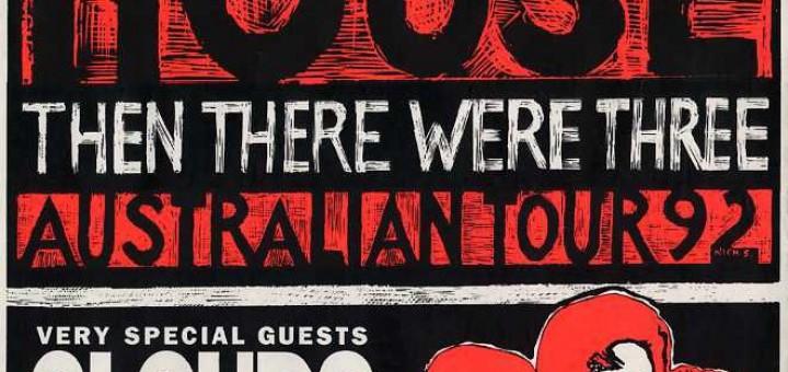 Then There Were Three (Australia Promo Poster)