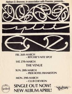 Australia 1982 (Australia Promo Flyer)