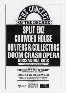 The Concert Of The Decade - Gold Coast 1988 (Australia Promo Flyer)