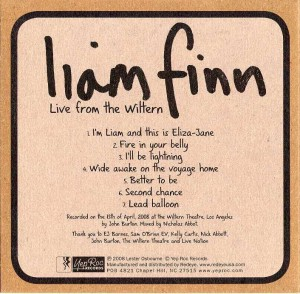Live From The Wiltern (USA Promo CD)