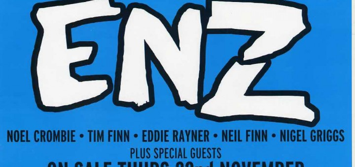 New Zealand Tour 2008 (New Zealand Promo Poster)