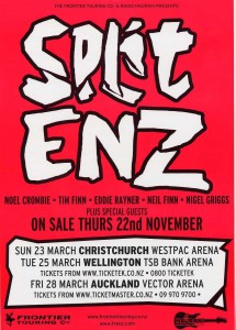 New Zealand Tour 2008 (New Zealand Promo Poster)