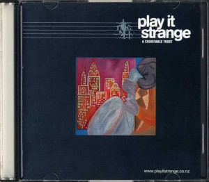 Play It Strange A Charitable Trust (New Zealand Promo CD-R)