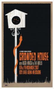 Melbourne 2007 (Australia Tour Poster)