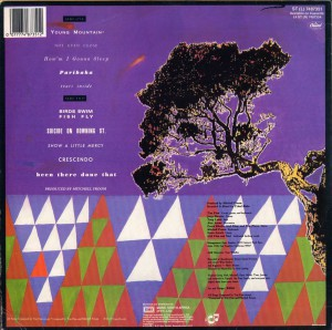 Tim Finn (South Africa LP)
