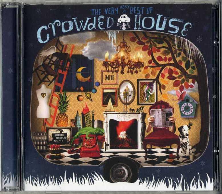 The Very Very Best Of Crowded House Europe Cd Dvd Kia Kaha