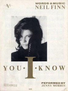 You I Know (Australia Sheet Music)