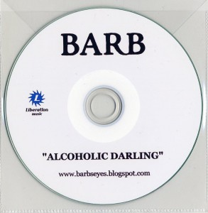 Alcoholic Darling (Australia Promo CD-R)