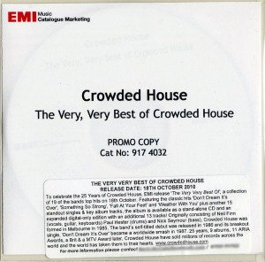 The Very Very Best Of Crowded House (UK Promo CD-R)