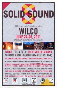 Solid Sound Festival 2011 (USA Promo Poster)