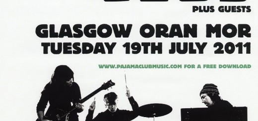 Glasgow 2011 (UK Tour Poster)