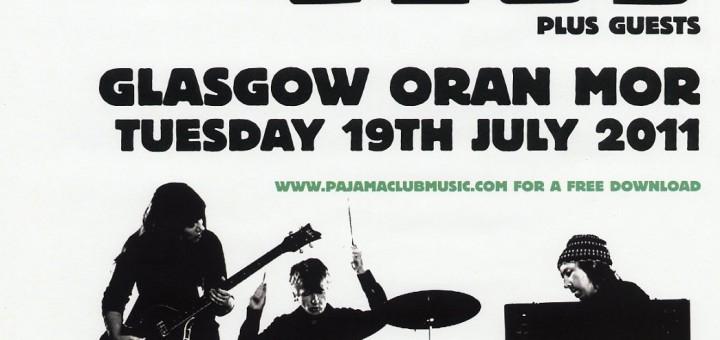 Glasgow 2011 (UK Tour Poster)
