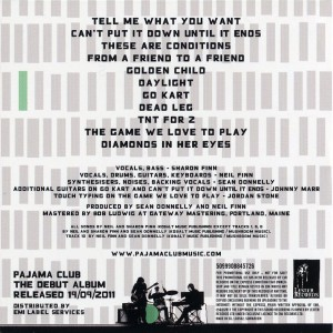 Pajama Club (Europe Promo CD)