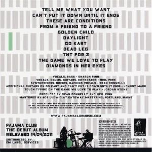 Pajama Club (Europe Promo CD)