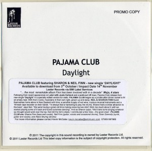 Daylight (UK Promo CD)