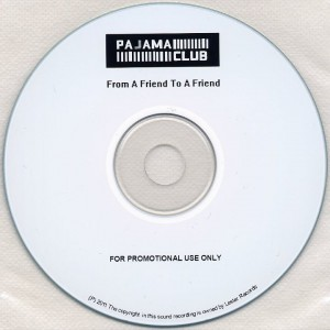 From A Friend To A Friend (UK Promo CD-R)