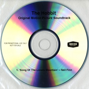 Song Of The Lonely Mountain (UK Promo CD-R)