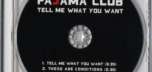 Tell Me What You Want (Australia Promo CD)